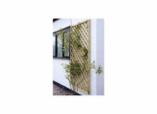 Grange Elite Square Top Trellis Fence 1800 x 900mm ELTSQL3