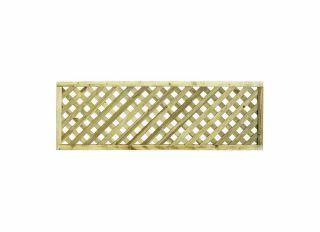Grange Elite Square Top Trellis Fence 1800 x 600mm ELTSQL2