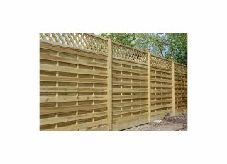 Grange Elite St Malo Fence Panel 1800 x 1800mm ELITEPM18