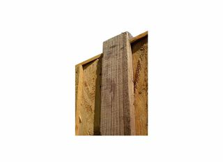 Timber Fence Post Brown 100 X 100 X 2.4m PO84P