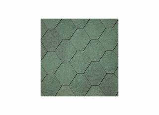 IKO Armourshield Hexagonal Shingles Green (3m2 Pack)