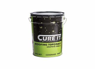 Cure It GRP Roofing Topcoat Graphite Grey 20kg