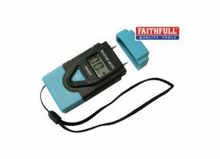 Faithfull Damp & Moisture Meter