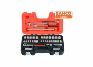 Bahco Socket Set 38 Piece 3/8in Drive BAHS380
