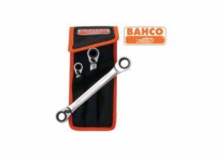 Bahco Reversible Ratchet Spanners Set 3 Piece 8 - 19mm BAHS4RM3T