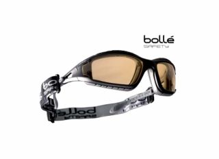 Bolle Tracker Safety Goggles Vented Yellow