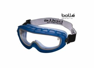Bolle Atom Safety Goggles Clear Sealed