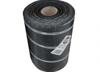 Polythene DPC Brickgrip Black 112.5mmx30m