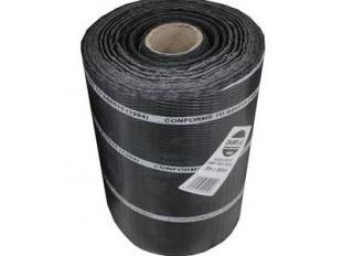 Polythene DPC Brickgrip Black 450mmx30m