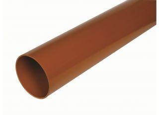 Hunter DS505 Underground  Plain End Pipe 110mmx3m
