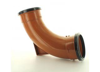 Hunter DS663 87.5 Deg Double Socket Rest Bend 110mm