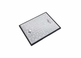 Clark-Drain Solid Top Cover & Frame 10T GPW 600x450mm PC6CG