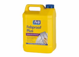 Febproof Plus Waterproofer & Plasticiser 5L