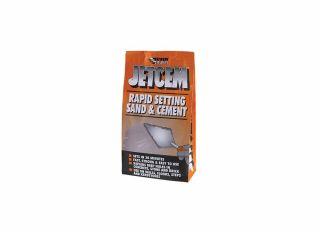 Everbuild Jetcem Rapid Set Sand & Cement Mix 6kg