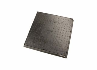 Hunter DS076 Square Plastic Cover & Frame for 450mm Chamber Base 3.5T