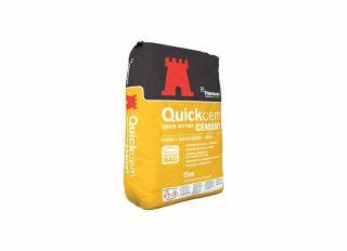 Hanson Quickcem Fast Setting Cement 25kg Bag