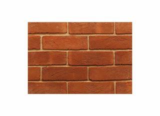 Imperial Handmade Metric Soft Red Stock Brick (648/pk) 65x215mm