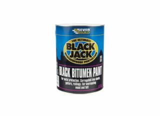 Everbuild 901 Black Jack Black Bitumen Paint 2.5L