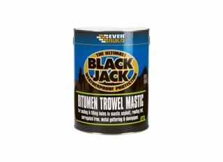 Everbuild 903 Black Jack Bitumen Roof Mastic 2.5L