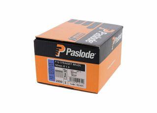 Paslode IM65 Straight Brads Galv F16x51mm (Pack of 2000) 921591
