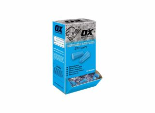 Ox Disposable Ear Plugs Uncorded per Pair