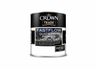 Crown Trade Fastflow Quick Dry Primer/Undercoat Grey 1L