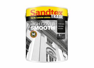 Sandtex Highcover Smooth Brilliant White 5L