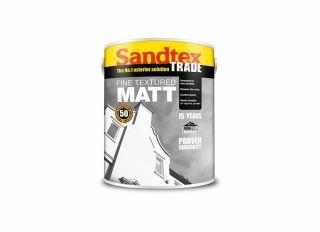 Sandtex Fine Textured Matt Brilliant White 5L