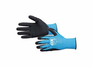 Ox Latex Flex Glove Size 9 Large