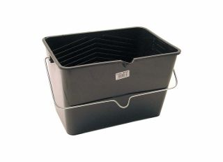 Rodo Prodec Plastic Roller Scuttle Bucket Black 10L