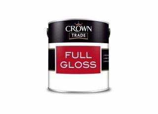 Crown Trade Full Gloss Brilliant White 1L