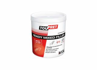 Toupret Snagging Ready Mixed Filler White 1.5kg