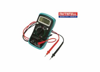 Faithfull Multi-Meter with LCD Display