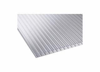 Corotherm Clear Twinwall Polycarbonate Sheet 2500 x 1050 x 10mm