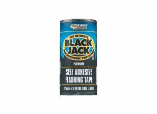 Everbuild Black Jack Flashing Tape Trade 225mmx10m