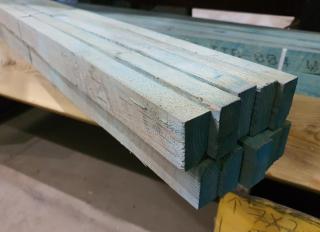 25x38mm Blue Treated Tile Batten (BS5534)