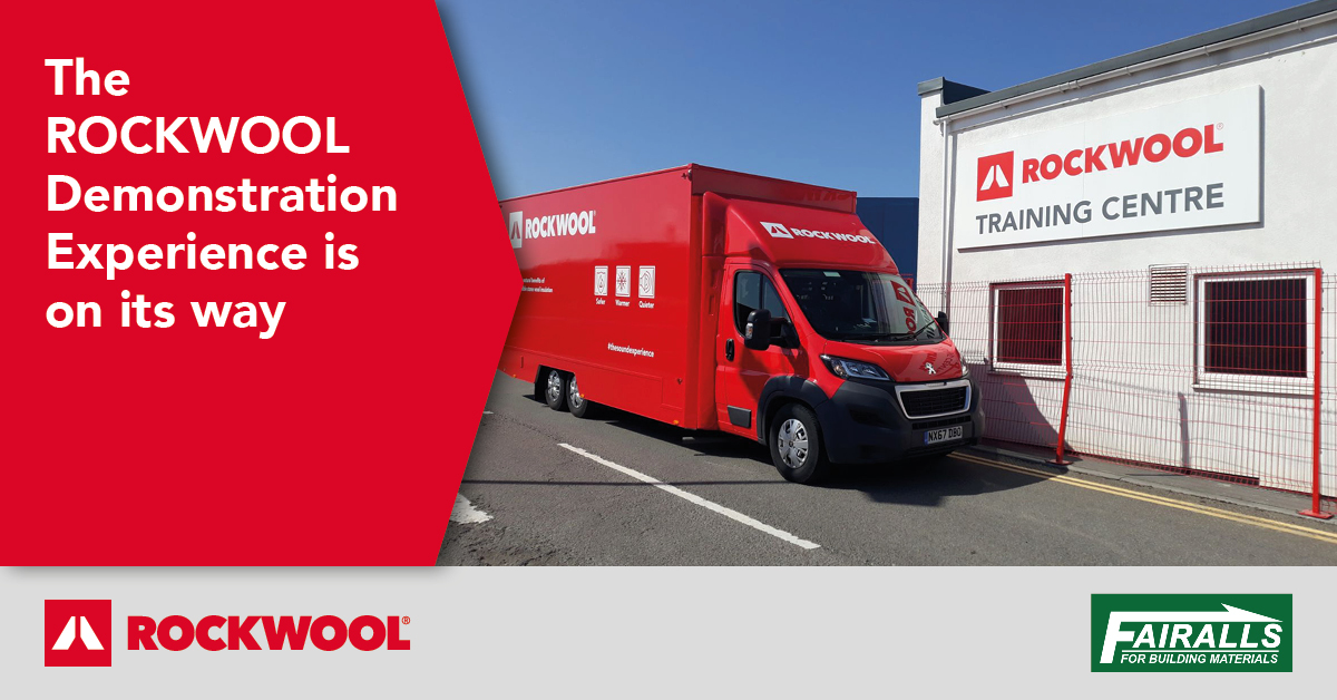 The ROCKWOOL Demonstration Experience is Coming to Fairalls!